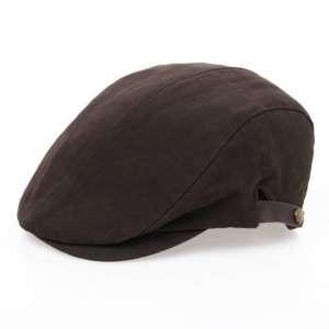 咖色贝雷帽