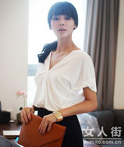 韩国气质淑女装扮 打造高雅名媛风