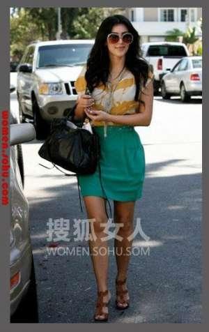 美艳花苞裙+小衫 穿到夏季也不腻屋顶秧田工装
